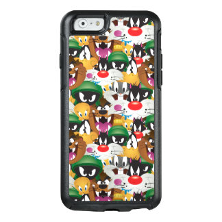 LOONEY TUNES™ Emoji Pattern OtterBox iPhone 6/6s Case