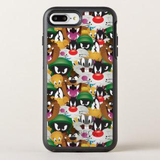 LOONEY TUNES™ Emoji Pattern OtterBox Symmetry iPhone 8 Plus/7 Plus Case