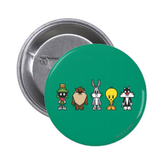 LOONEY TUNES™ Group Photo Op 6 Cm Round Badge