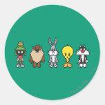 LOONEY TUNES™ Group Photo Op Round Sticker