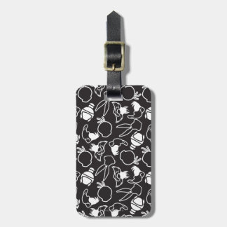 LOONEY TUNES™ Head Outlines Pattern Bag Tag