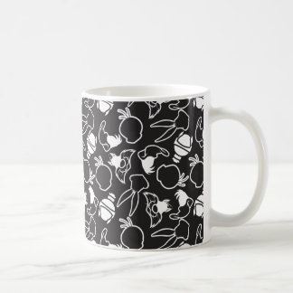 LOONEY TUNES™ Head Outlines Pattern Coffee Mug