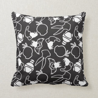 LOONEY TUNES™ Head Outlines Pattern Cushion