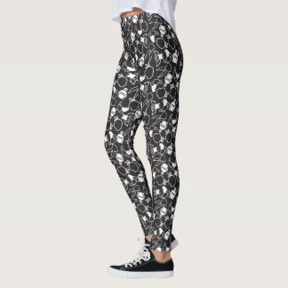 LOONEY TUNES™ Head Outlines Pattern Leggings