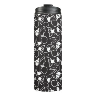 LOONEY TUNES™ Head Outlines Pattern Thermal Tumbler