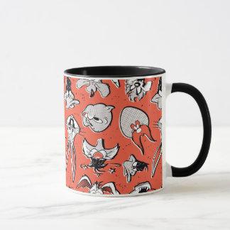 LOONEY TUNES™ Retro Halftone Pattern Mug