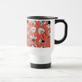 LOONEY TUNES™ Retro Halftone Pattern Travel Mug