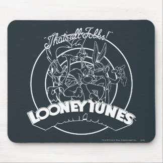 Looney Tunes That s All Folks Mouse Pad