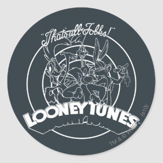 Looney Tunes That s All Folks Stickers