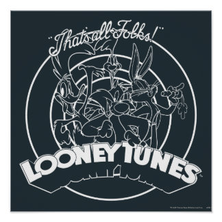 LOONEY TUNES™ THAT'S ALL FOLKS!™ POSTER