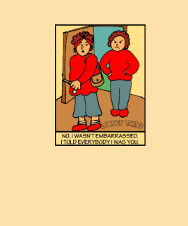 Looney Twins Not Embarrassed Tee