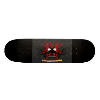 LooneySkullRUD: Uni-Skull Skateboard Deck