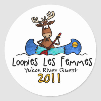 Loonies les femmes YRQ stickers
