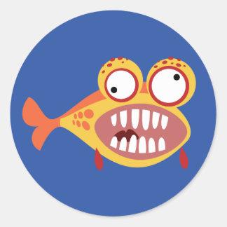 Loony Fish Sticker