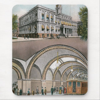 Loop Station, City Hall, NY Mouse Pad