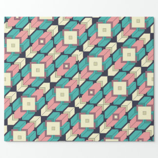 Looping Geometry 1 Wrapping Paper