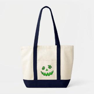 Loopy-Looking Jack-O-Lantern Bags