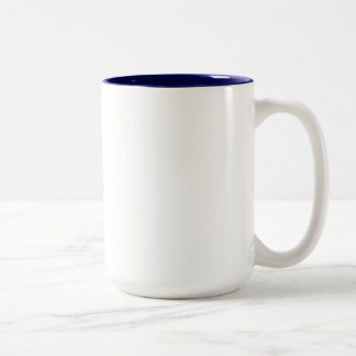 Loose Lips Might Sink Ships Two-Tone Coffee Mug