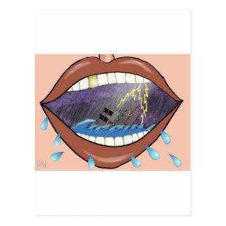 Loose Lips, Sink Ships Postcard