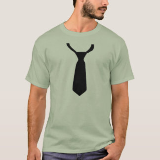 Loosened Tie Formal T Shirt Prom Wedding Dance