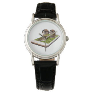 Lop Eared Bunny Rabbit Family Tech Swavy, Ladies Watch
