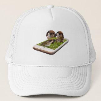 Lop Eared Bunny Rabbit Family Tech Swavy, Trucker Hat
