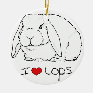 Lop Rabbit Christmas Tree Ornaments