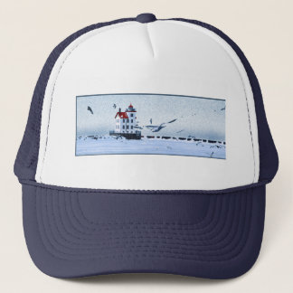 Lorain Lighthouse Trucker Hat
