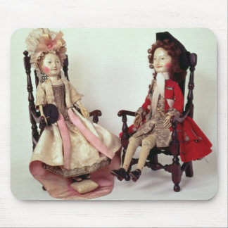 Lord and Lady Clapham Mouse Pad