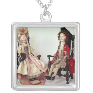 Lord and Lady Clapham Silver Plated Necklace