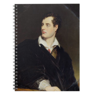 Lord Byron after a Portrait painted by Thomas Phil Notebook