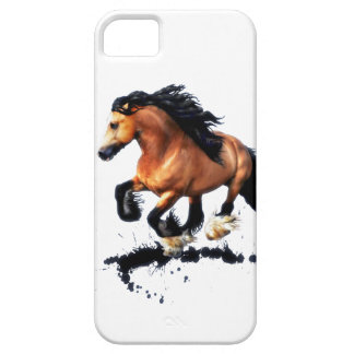 Lord Creedence Gypsy Vanner Horse Case For The iPhone 5