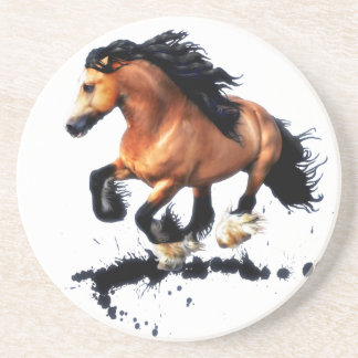 Lord Creedence Gypsy Vanner Horse Coaster