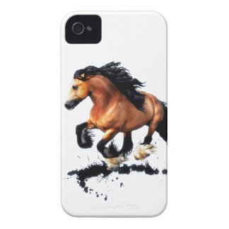 Lord Creedence Gypsy Vanner Horse iPhone 4 Case-Mate Case