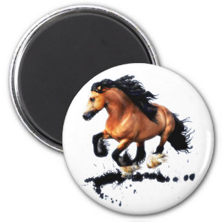 Lord Creedence Gypsy Vanner Horse Magnet