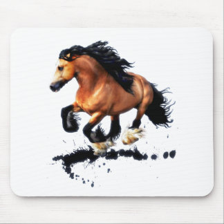 Lord Creedence Gypsy Vanner Horse Mouse Pad