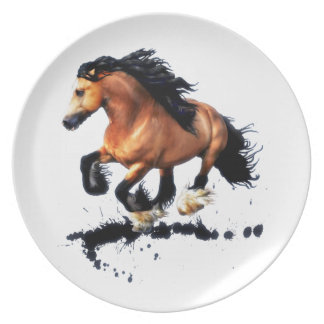 Lord Creedence Gypsy Vanner Horse Plate