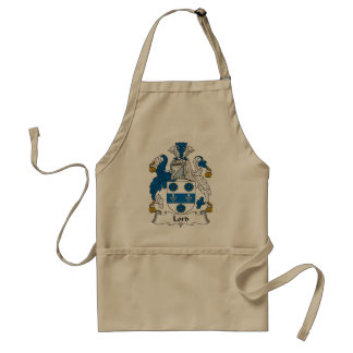 Lord Family Crest Standard Apron