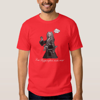 """Lord Foppington rocks rouge!"" Funny Gay Fop LGBT Shirts"