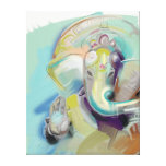 Lord Ganesh Art Canvas Stretched Canvas Prints