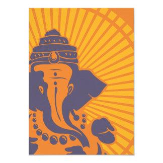 Lord Ganesh Bridal Shower Invitation