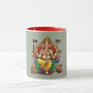 Lord Ganesh, Hindu God of Wealth & Properity Mug