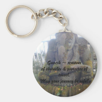 Lord Ganesh ~ remover of obstacles & prote... Key Ring