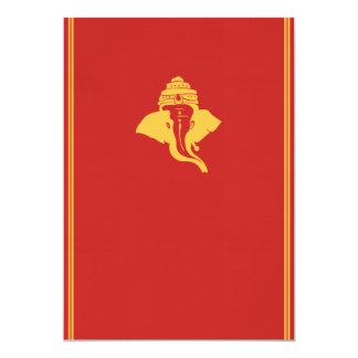 Lord Ganesh Wedding Invitation