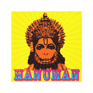 lord hanuman canvas print