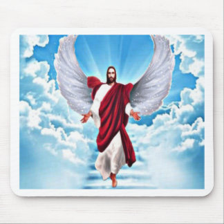 Lord In Heaven Mouse Pad