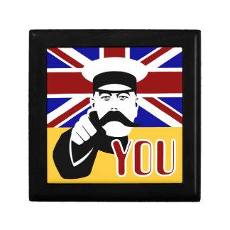Lord Kitchener 60's pop art Gift/trinket box