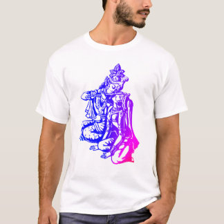 Lord Krishna & Radha - Couple T-Shirt