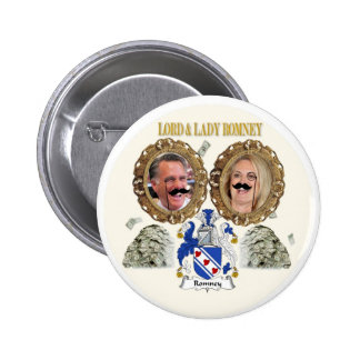 Lord & Lady Romney 6 Cm Round Badge