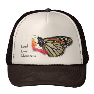 Lord Love Monarchs Butterfly Picture Hats